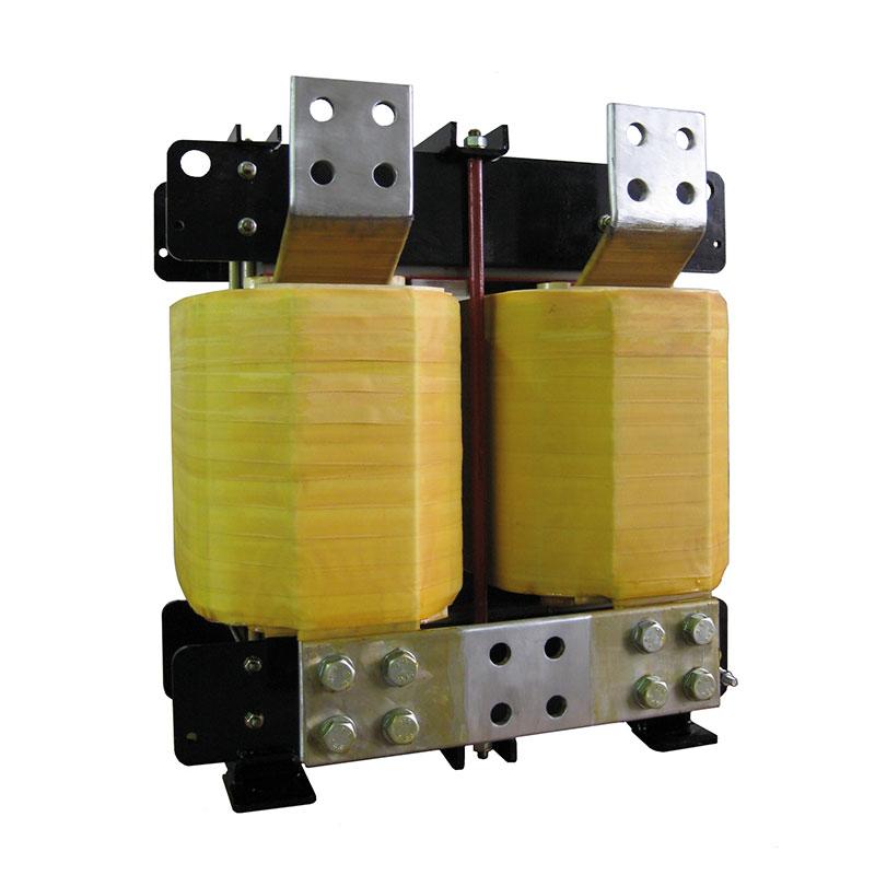 Reattore Interfasico Con Sovraccarico In Uscita 5kA Per 2 Ore 0.312mH 3300A 300Hz AN 300kg FDUEG