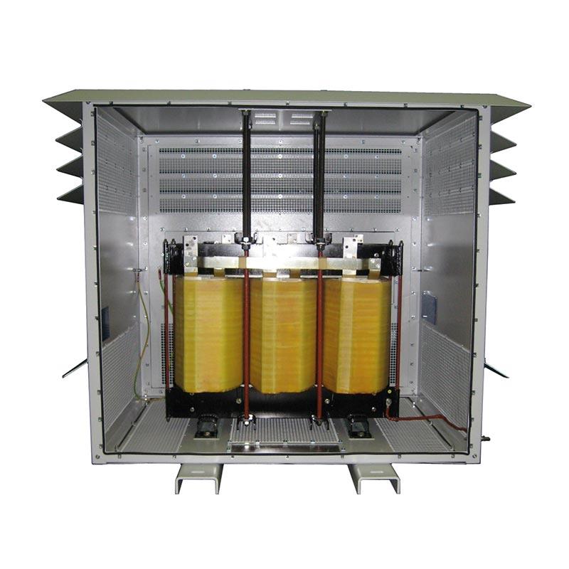 Сухие трансформаторы 300kVA 220-440V 50Hz AN 935kg FDUEG