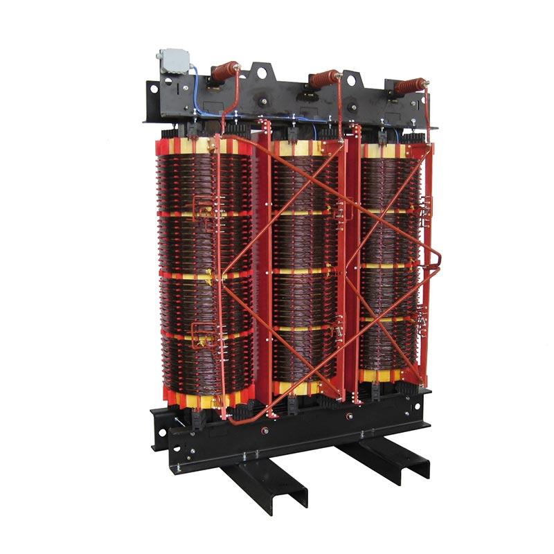 Dry type Transformer for 12 pulse rectifier 2000 kVA 15000 +- 2x2,5 %-407-408 V 50 Hz AN 4900 kg FDUEG
