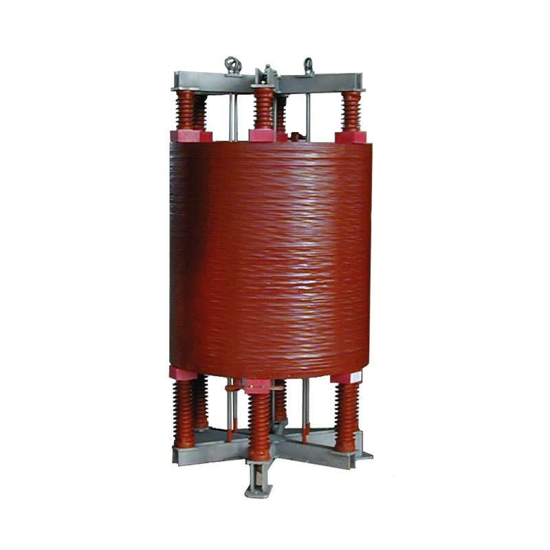 Single-phase current limiting reactor FDUEG 1.2 mH 1600 A installed on 15kV line 50 Hz AN 850 kg