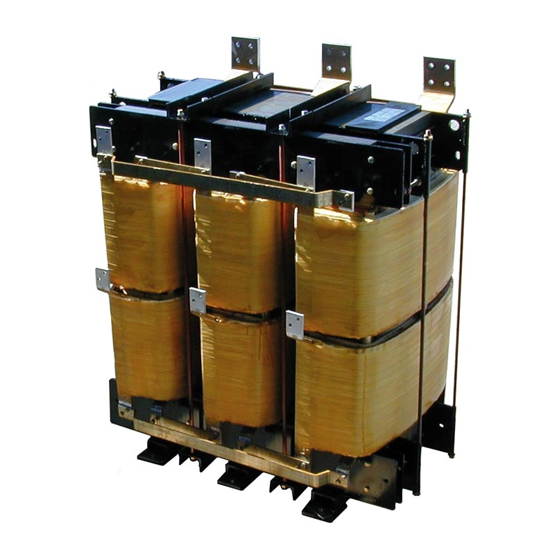 Three phase power transformer for 12 pulse rectifier 600 kVA 220-430 V Dz+-15° 50 Hz AN 1600 kg FDUEG