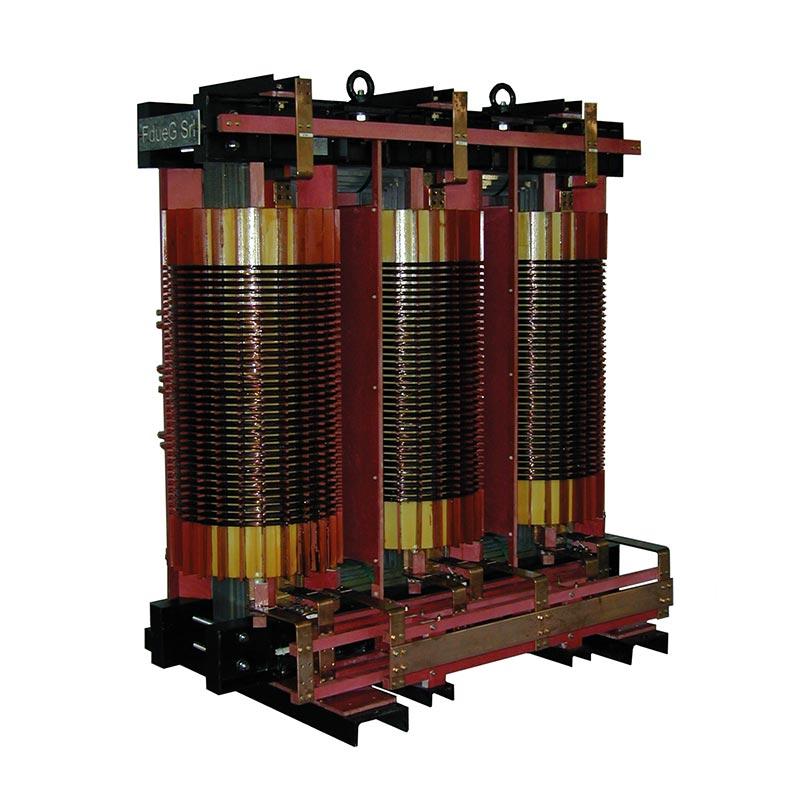 Transformateurs spéciaux 23000-231-420-438-463-527-725V 50Hz AN 2550kg FDUEG