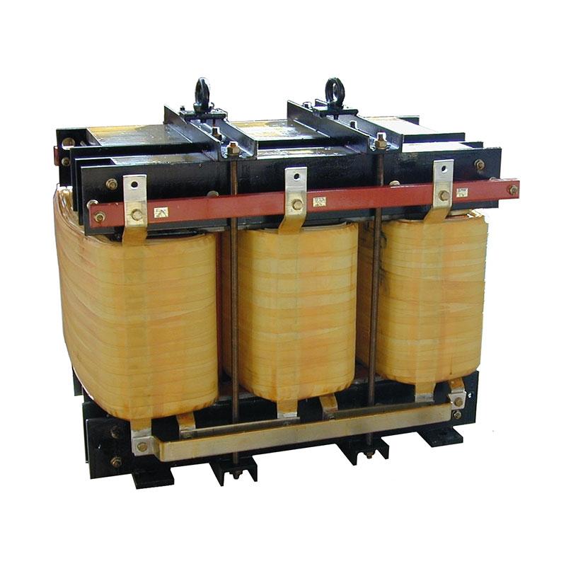 Trockentransformatoren 125kVA 400-300V 50Hz AN 680kg FDUEG